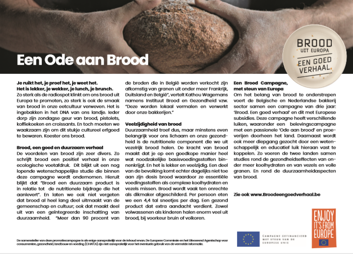 Brood, een goed verhaal
